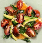 Heirloom Tomato Salad With Avocado
