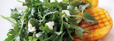 arugula with goat cheese